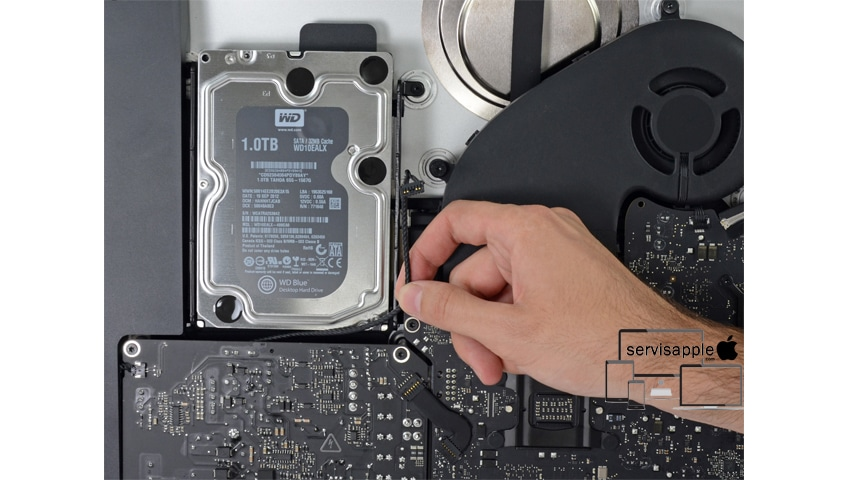 Apple iMac Garantili Teknik Servis SSD Hardidsk Tamir Onarım Değişim
