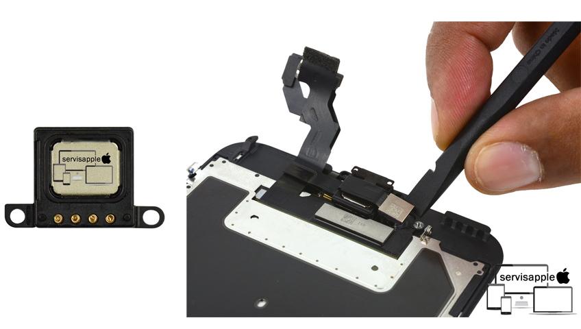 Apple iPhone Garantili Teknik Servis Onarım Tamir İç Kulaklık Değişimi