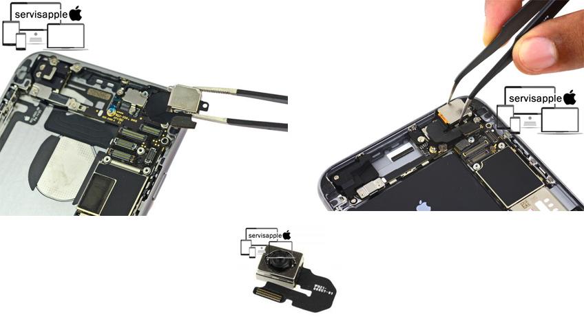 Apple iPhone Garantili Teknik Servis Onarım Tamir Arka Kamera Değişimi
