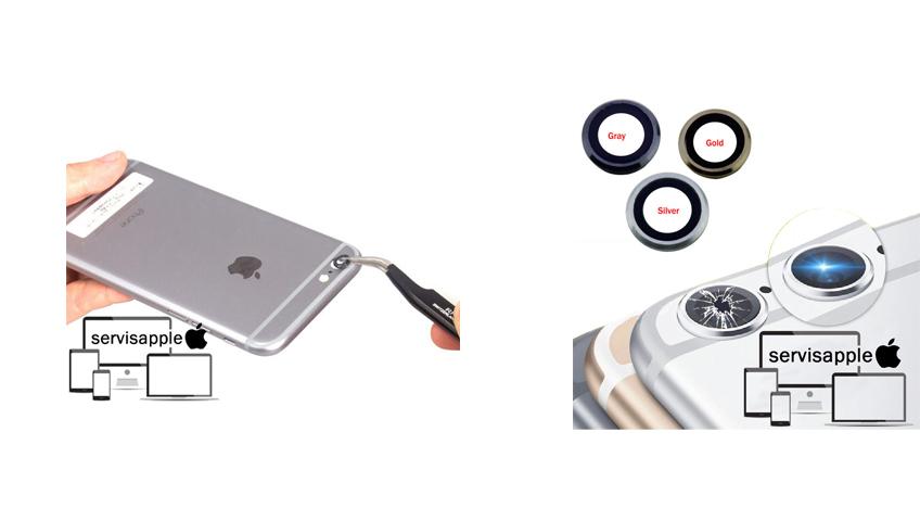 Apple iPhone Garantili Teknik Servis Onarım Tamir Kamera Lens Camıi Değişimi
