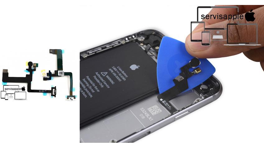 Apple iPhone Garantili Teknik Servis Onarım Tamir Power Açma Kapama Tuş Filmi Değişimi